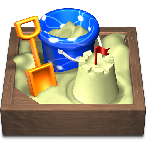 Sandvox Icon, Looks Like A Sandbox