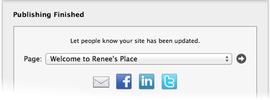 Email, Facebook, LinkedIn, Twitter