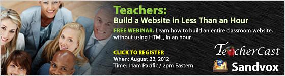 Teachercast Banner