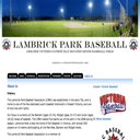 Lambrick Park Baseball Association Website